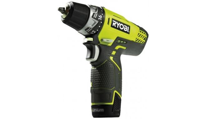 Ryobi Cordless Screw Driller R12DD-L13S 12V green
