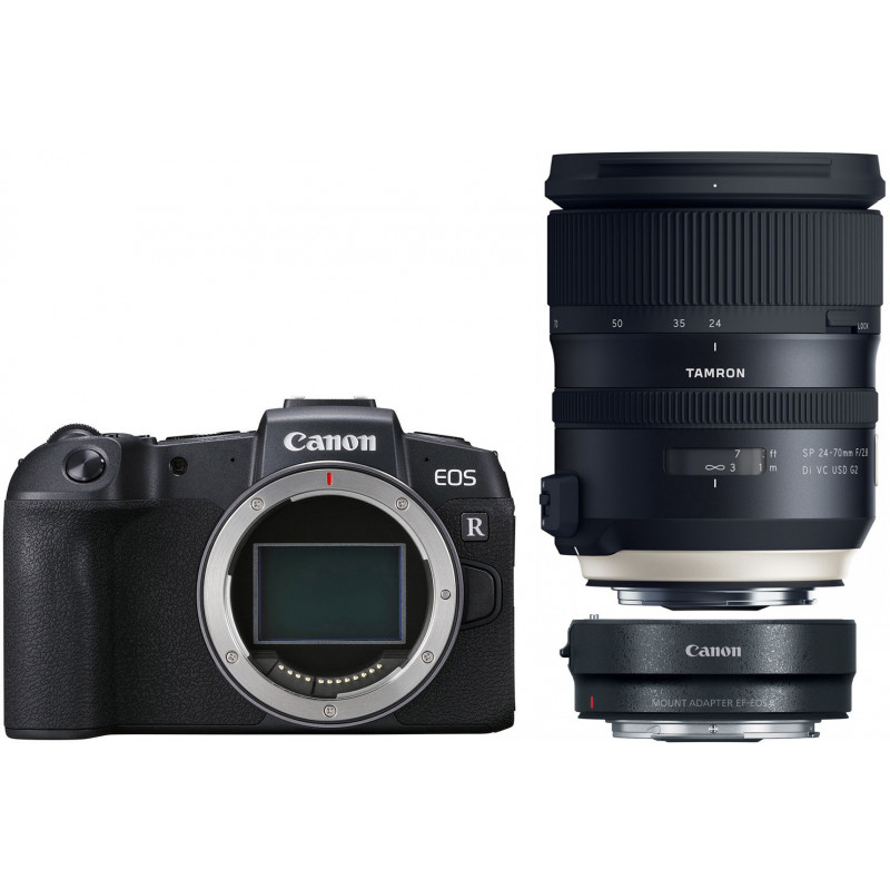 Canon EOS RP + adapter EF-RF + Tamron 24-70mm G2
