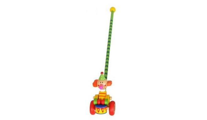 Pchanka wooden clown with drum