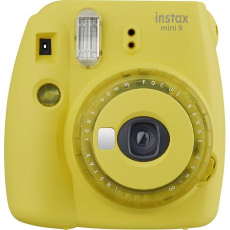 Fujifilm Instax Mini 9, spilgti dzeltens + Instax Mini fotomateriāls