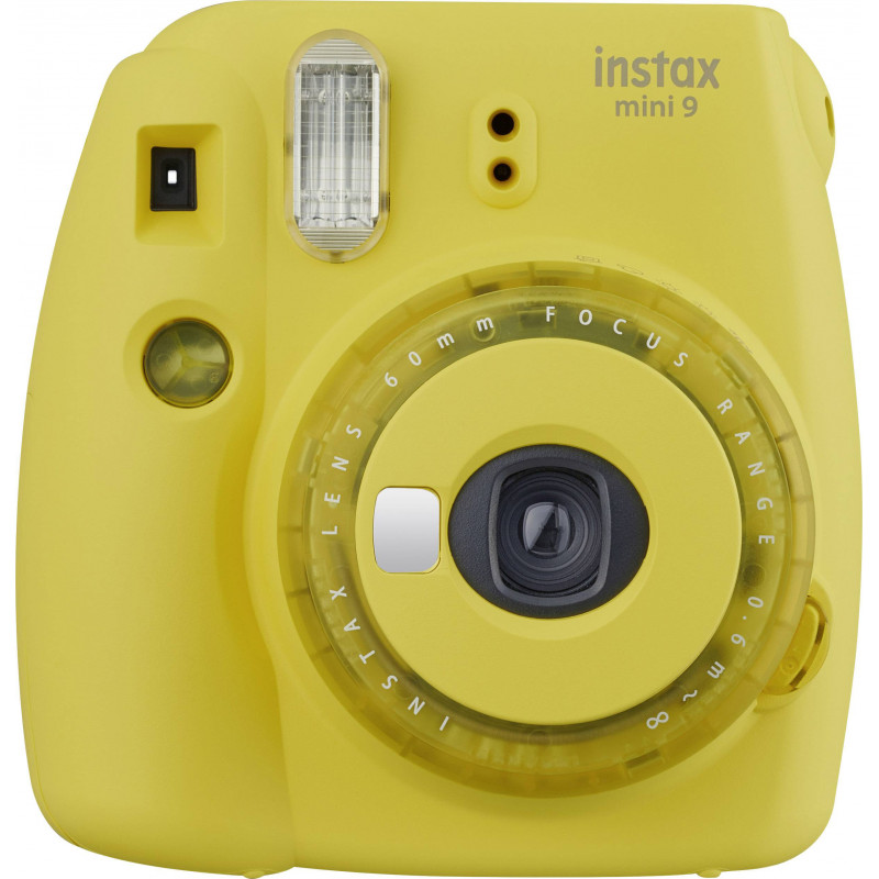 Fujifilm Instax Mini 9, clear yellow + Instax Mini paber