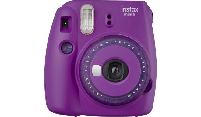 Fujifilm Instax Mini 9, фиолетовый + Instax Mini пленка