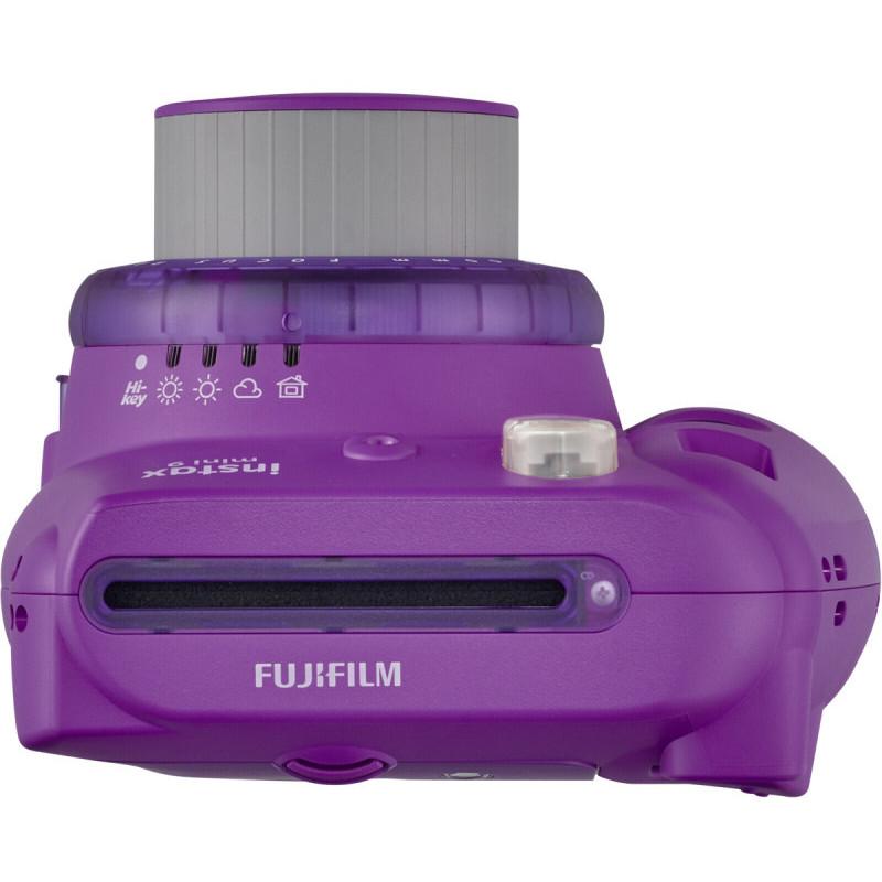Fujifilm Instax Mini 9, clear purple + Instax Mini paber