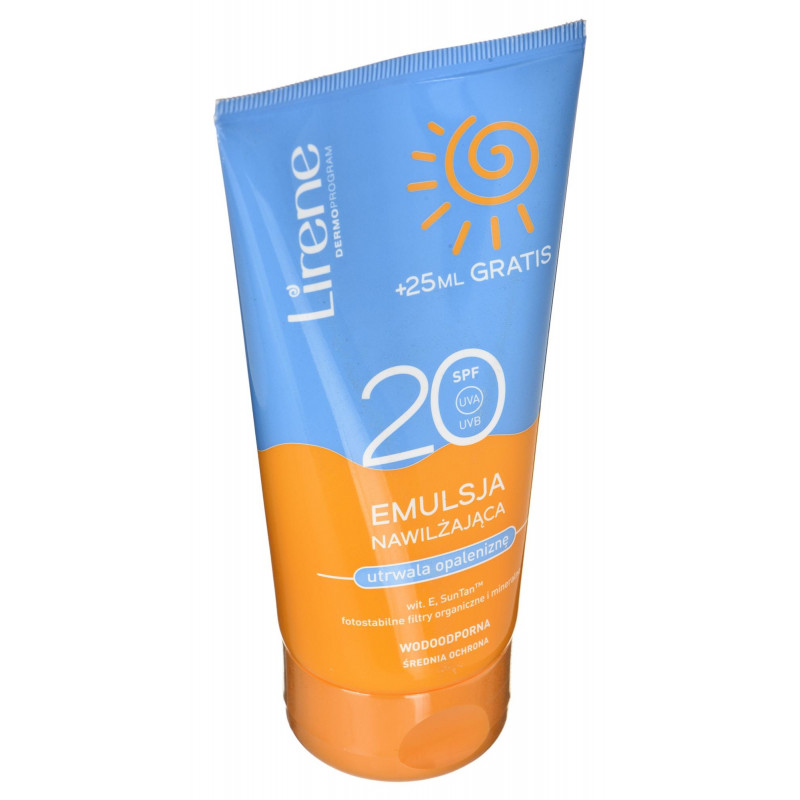 Emulsion moisturizing after tanning utrwalająca opaleniznę (For women; 175 ml )