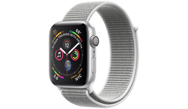Apple Watch 4 GPS 44mm Sport Loop, gliemežvāka krāsā