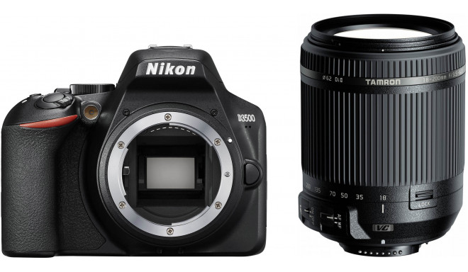 Nikon D3500 + Tamron 18-200mm VC, must