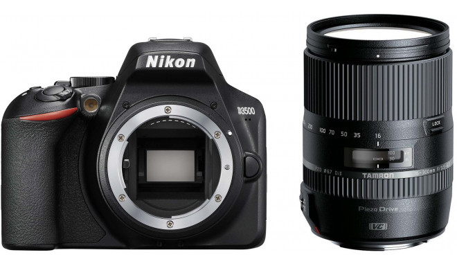 Nikon D3500 + Tamron 16-300mm, must