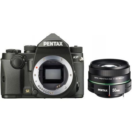 Pentax KP + 50 мм f/1.8, черный