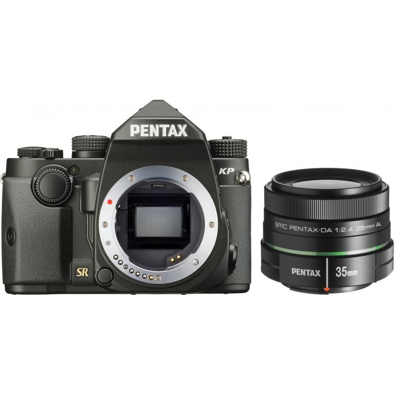 Pentax KP + 35 мм  f/2.4, черный