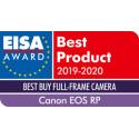 Canon EOS RP + RF 24-105mm f/4L IS USM + adapter EF-EOS-R