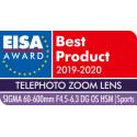 Sigma 60-600mm f/4.5-6.3 DG OS HSM Sports objektiiv Nikonile