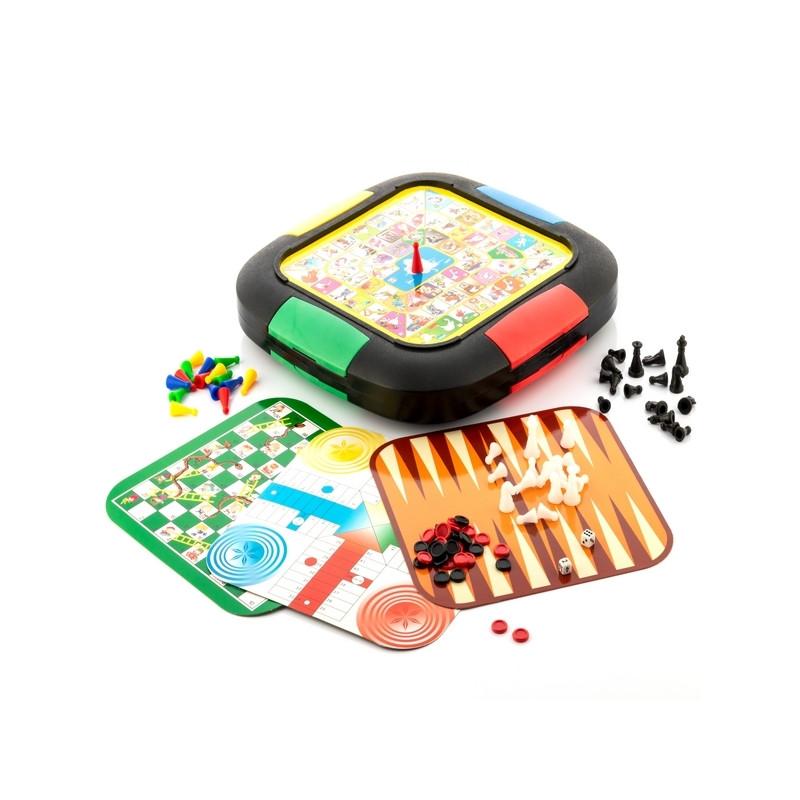 5 lauamängu komplekt
