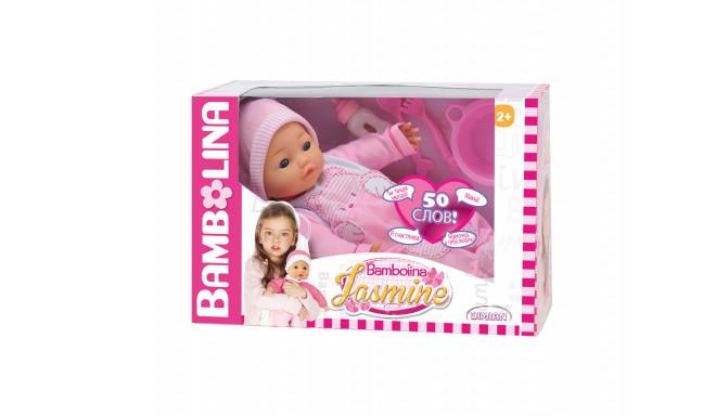 BAMBOLINA talking doll Jasmine (RU 50 words), BD358RU