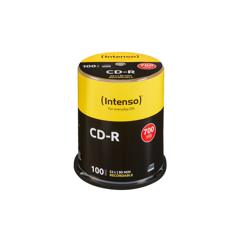 CDR INTENSO 700MB (100 CAKE)