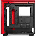NZXT H710i Window Red, Tower Case (Black / Red, Tempered Glass)