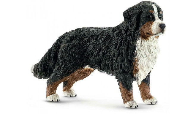 Schleich toy figure Bernese Mountain Dog  female (16397)