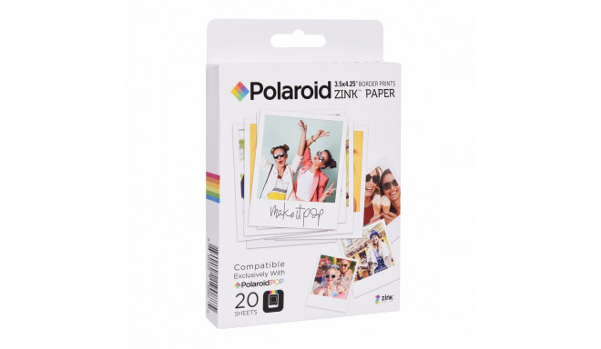 Polaroid Instant ZINK Media 3,5x4,25 Pop 40tk