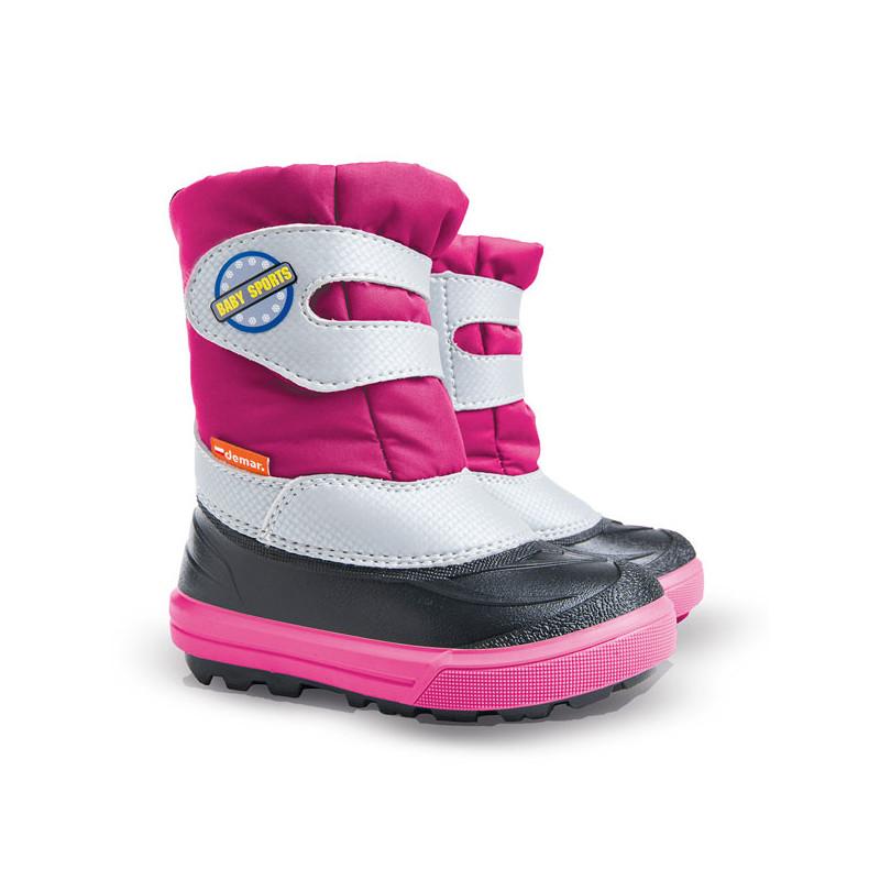 Demar Baby Sport laste talvesaapad roosad 28-29