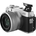 Fujifilm X-A7 + 15-45mm Kit, silver