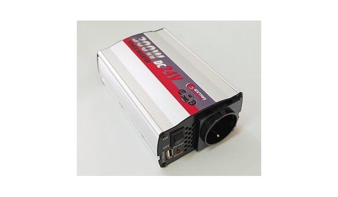 Inverter 24V-220V, 300W