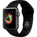 Apple Watch 3 GPS 38mm Sport Band, space grey