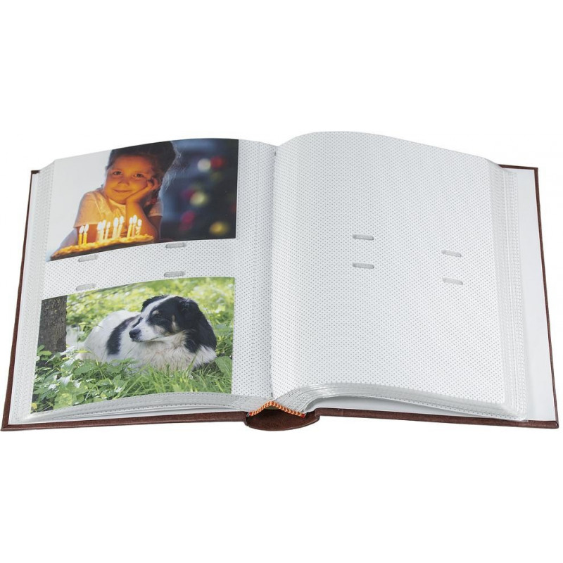 Album B 10x15/200M Classic, punane 2tk