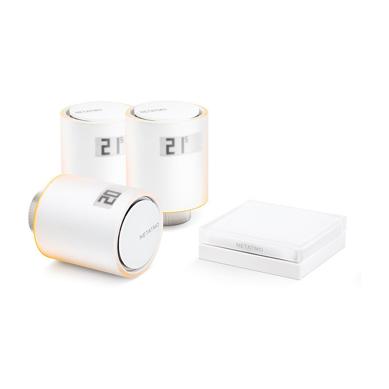 Netatmo termostaadikomplekt Smart Valve Starter Pack + Additional Valve