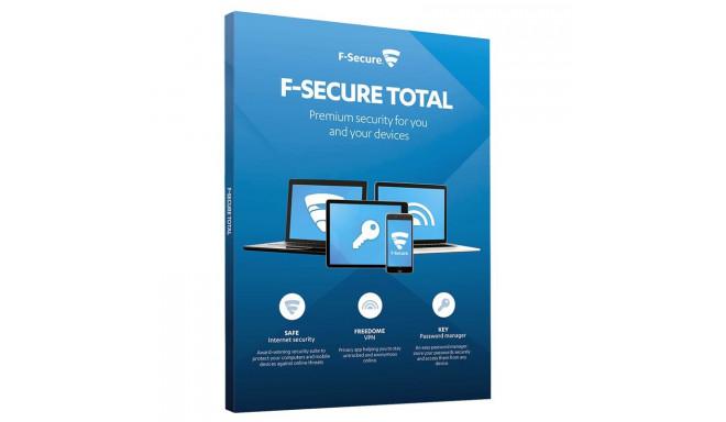 F-Secure TOTAL 1 aasta - 3 seadmele