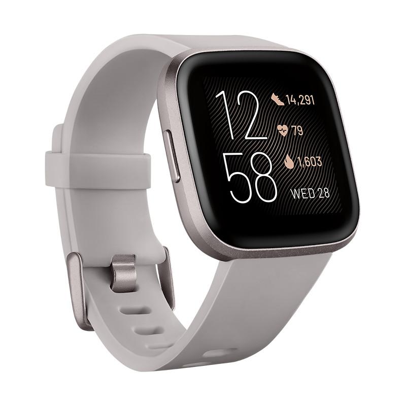 Fitbit Versa 2, stone/mist grey