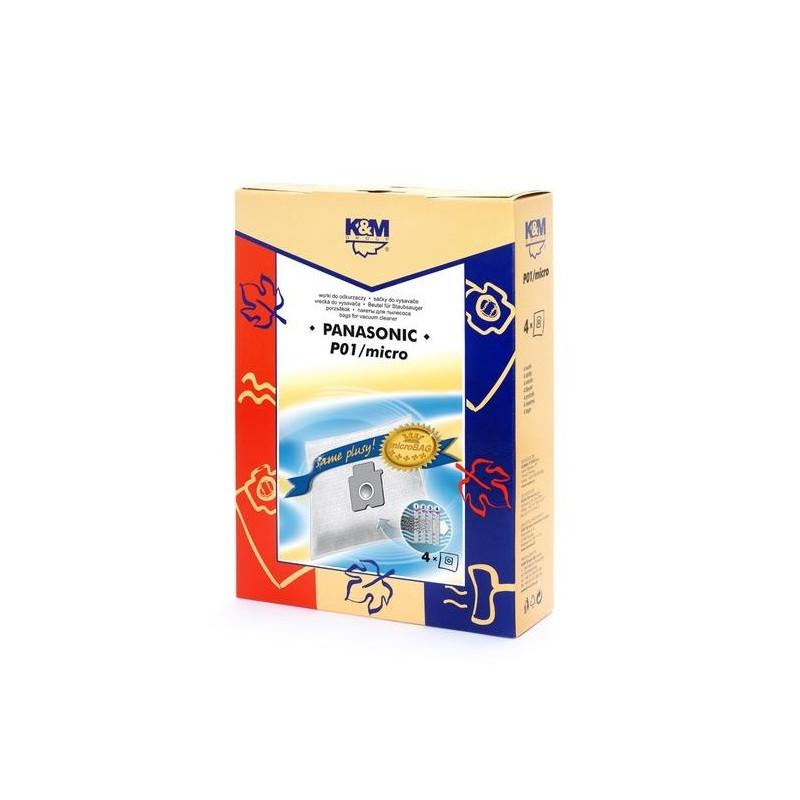 K&M vacuum cleaner bag Panasonic 4pcs