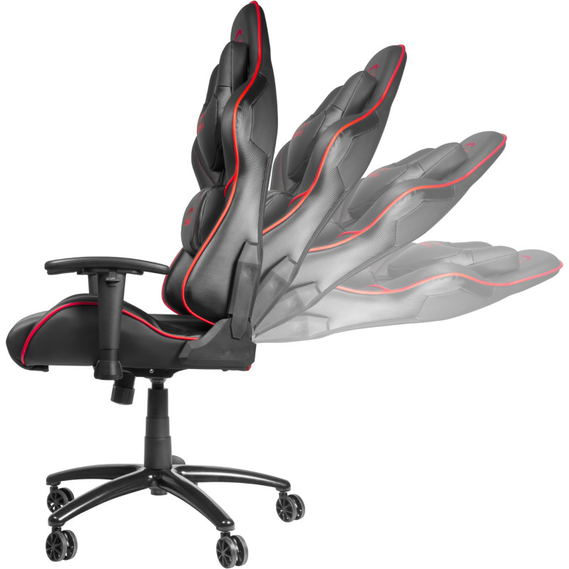 Speedlink gaming chair Zayne, black/red  (SL-660006-BKRD)