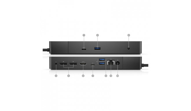 Dell Performance Dock WD19DC, 240W