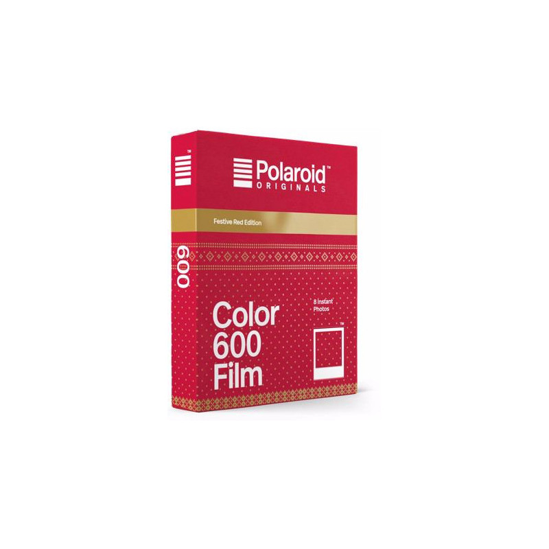 Polaroid 600 Color Festive Red Edition