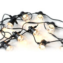 Platinet light bulb chain POLWT10Z LED 5m