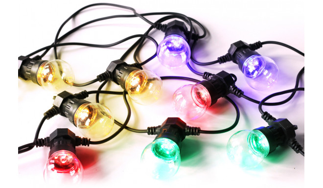 Platinet light bulb chain POLCT10Z LED 5m