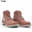 Wrangler CREEK PATCH FUR Women's genuine leat