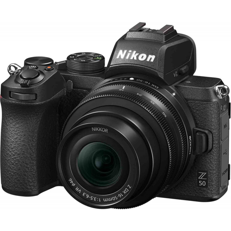 Nikon Z50 + Nikkor Z DX 16-50mm + 50-250mm Kit