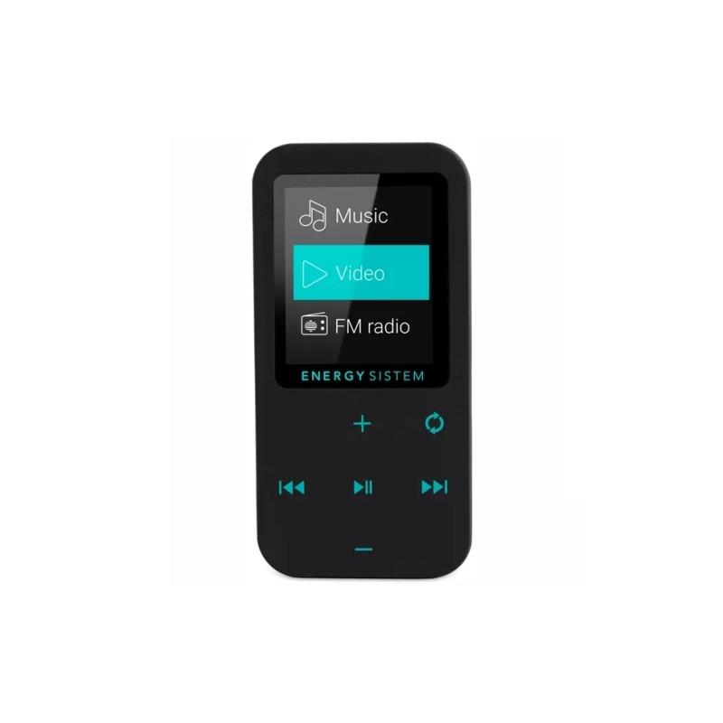 Energy Sistem MP4 Touch Bluetooth Mint (8 GB, in-ear earphones, radio FM, microSD)