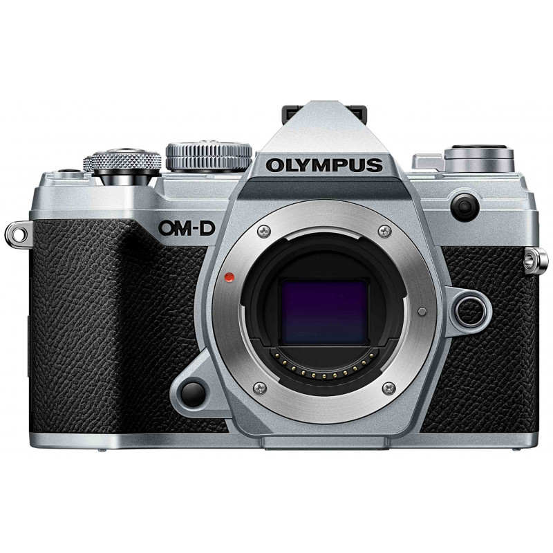Olympus OM-D E-M5 Mark III + 12-200mm Kit, silver/black