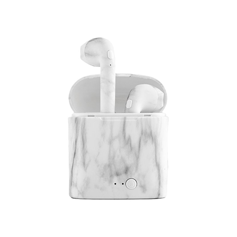 InnovaGoods wireless headset SmartPods, marble