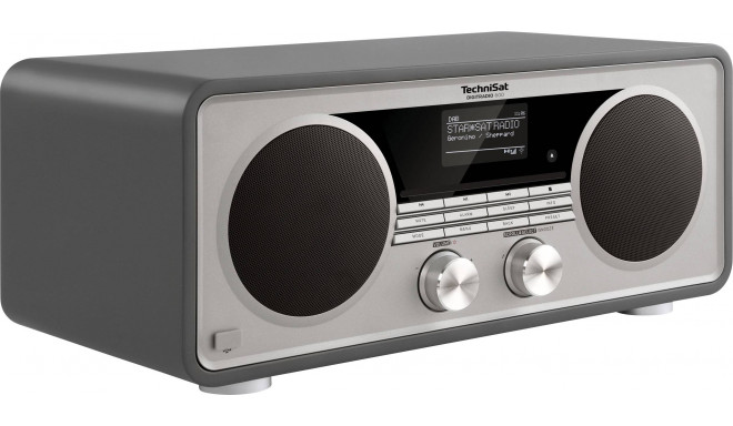 Technisat radio DigitRadio 600, pelēks