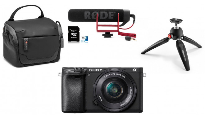 Sony a6400 Youtuber Kit
