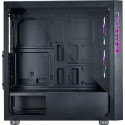AZZA Iris 330 tower case (black, Tempered Glass)