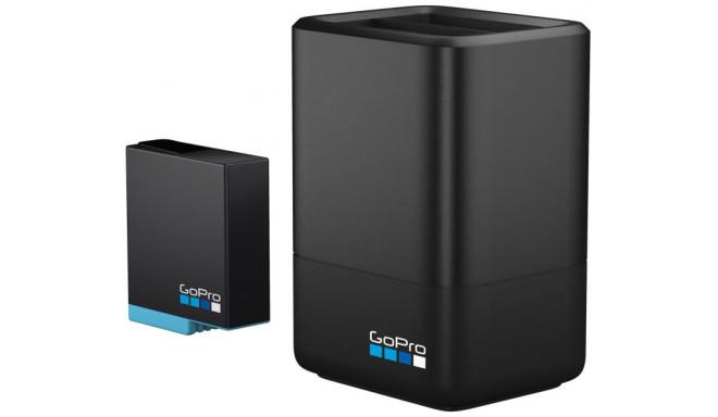 GoPro Dual akulaadija + aku Hero 7/8 Black (AJDBD-001-EU)