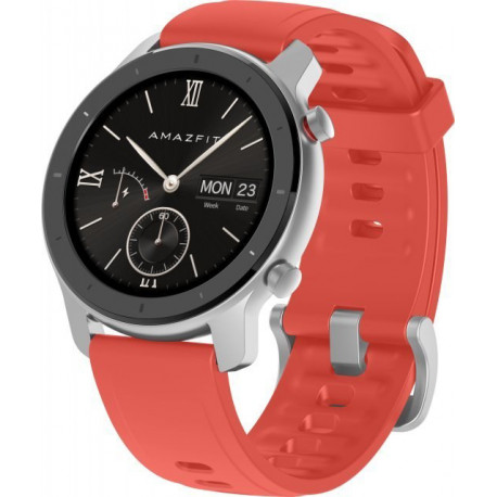 Huami Amazfit GTR 42mm, coral red