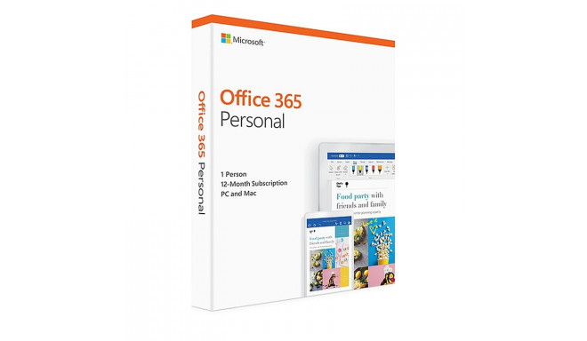 MS Office 365 Personal 1 aasta (ENG)