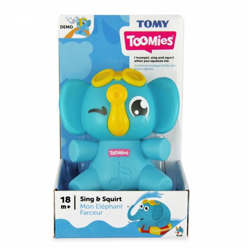 Bath toy elephant
