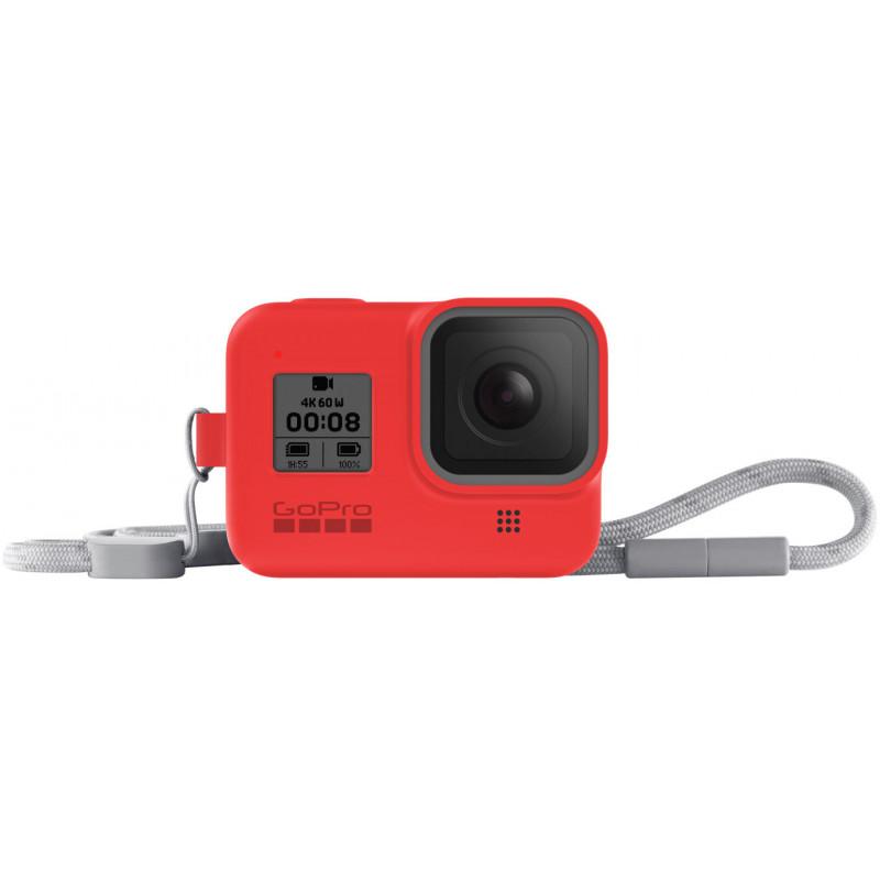 GoPro kaitseümbris + randmepael Hero8 Black, punane