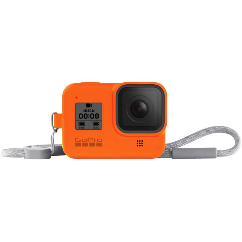 GoPro kaitseümbris + randmepael Hero8 Black, oranž