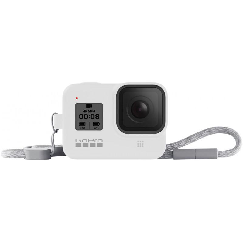 GoPro kaitseümbris + randmepael Hero8 Black, valge